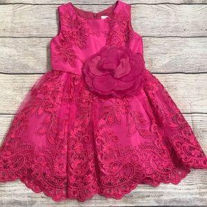 Zoe Ltd Hot Pink Dress